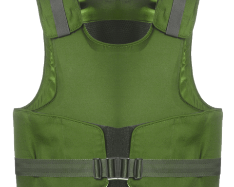 staying safe with a bulletproof vest